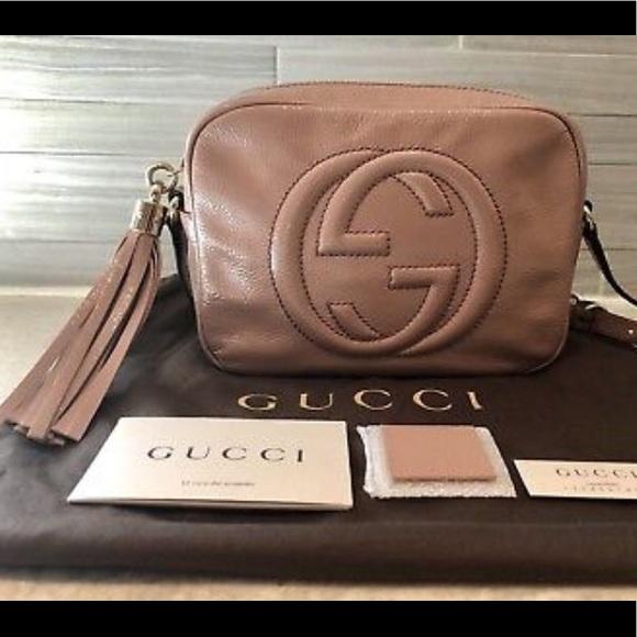 2e7d1138a731 Gucci Handbags - CIPRIA / BLUSH Gucci Soho Disco. Authentic